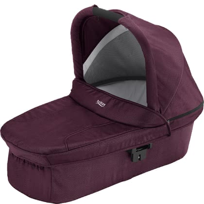 Britax Römer 兒童推車睡籃 Hard Carrycot Wine Red Denim 2020 - 大圖像