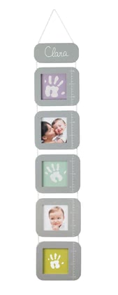 "Baby Art 可測量身高寶寶相框 Measure me! - * Baby Art ""Measure me!"" – levelling staff with picture frame."