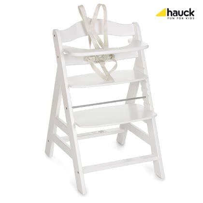 Hauck 餐椅 Alpha+ Plus -  * The Hauck Alpha+ high chair is stable and ideal for children up to an age of 12 years. The Alpha+ can be used longer than childhood as it can be used up to 90kg.