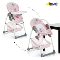 Hauck 餐椅 Sit'n Relax -  * The Hauck highchair Sit'n Relax enables your little one to take part in everyday family life right from the very first day. Due to the highchair's attachments which can be adjusted in seven different levels, you can have your little one close to you no matter at which table you take your seats.