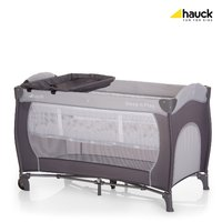 Hauck 旅行嬰兒床 Sleep'n Play Center -  * The Hauck Travel Cot Sleep'n Play Centre is the perfect companion for holidays or a visit at grandma's and granddad's. At home you can use it as a convenient second bed.