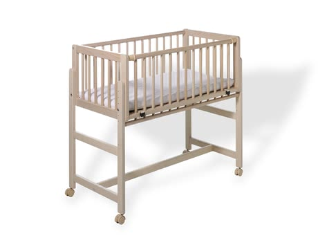 "Geuther 嬰兒成長床 Betsy,搭配彈簧床 -  * The bedside cot ""Betsy"" by Geuther combines versatile functionality and classic design and has been developed specifically for your box-spring bed."