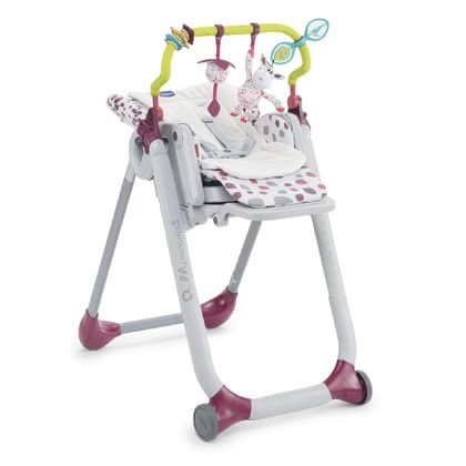 Chicco玩具拱門 適用於餐椅Polly Progres5 和 Polly 2 Start -  * The cheerful play arch by Chicco provides even more change and entertainment in the high chair.