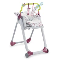 Chicco配件套裝 適用於Polly Progres 5 和Polly 2 Start餐椅 -  * In order to add some more comfort to your child's Polly Progres5, the accessories kit comes with a seat inlay and a play bar.