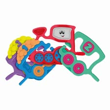Chicco 手提玩具小火車 - * Chicco grasping toy train – This grasping toy will entertain your child in a wonderful way.