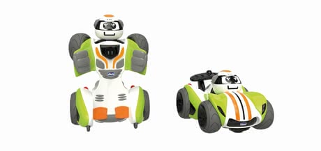 Chicco 遙控車 Robo Chicco - Chicco remote-controlled car Robbo – You can transform this car into a cool robot.