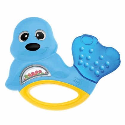 Chicco 磨牙膠環 - * Chicco teething ring – This ring spoils your child with its cooling effect when he/she is having teething pain.