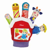 Chicco 玩具手套 - * Chicco toy glove – Having the toy glove by Chicco you are able to revive the happy farm.