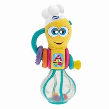 Chicco 打蛋器造型多媒體趣味玩具 - * Chicco Karl the beater – for small fans of baking.
