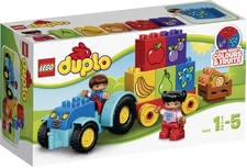 Lego Duplo 樂高第一台牽引機 - * Lego Duplo My first tractor – The tractor fascinates the littlest ones and is fun to play with.
