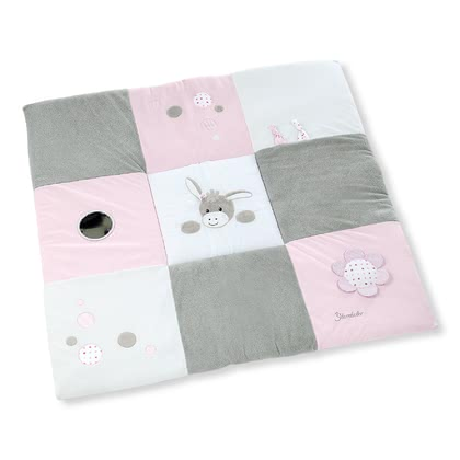 Sterntaler 玩耍爬行墊 -  * The soft baby playmat by Sterntaler accompanies your baby when making the first attempts at crawling. Its cute design and the colourful features make this playmat by Sterntaler a real eye-catcher in every room.