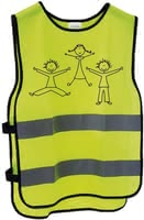 Messingschlager兒童反光安全背心XXS / XS -  * Messingschlager's reflective vest helps your child travel safely at all times. Its reflective stripes make your little one highly visible in twilight.