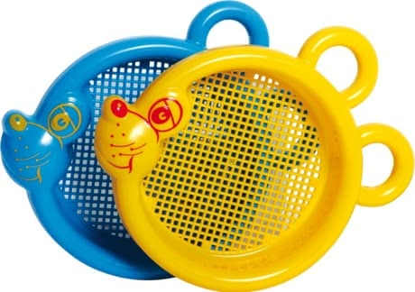 Gowi 小老鼠造型篩沙網 - * Gowi sand sieve Mouse – This toy is a real eye-catcher.