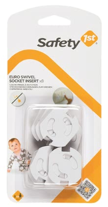 Safety 1st 旋轉式插座保護蓋 - * Safety 1st rotatable socket protector – Make your flat childproof.