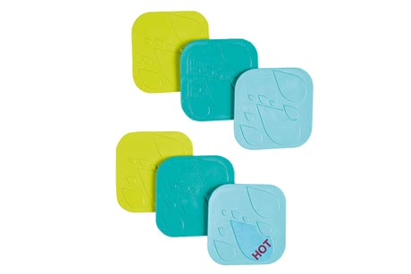 Safety 1st 防滑墊 - * Safety 1st anti-slip pad – This pad provides safety in your bathroom and comes with an integrated temperature display.