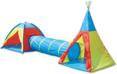 冒險遊戲帳篷組 - * Adventurer tent set - Does your child love to play hide-and-seek? – Well then this tent set is just the thing for him/her.