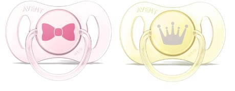 AVENT 迷你安撫奶嘴 - * AVENT mini soothers – Those mini soothers have been developed especially for newborns.