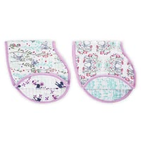 aden+anais 迪斯尼吐奶巾/围兜兜  burpy bib -  * Keep you and your little one's clothes clean with aden+anais' Disney burpy bibs that come in a convenient set of 2.