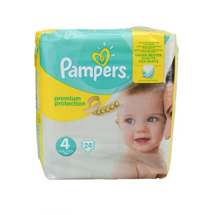 Pampers 幫寶適 Premium Protection 四號 Maxi - * Pampers premium protection diaper size 4 maxi – The best protection for your little one.