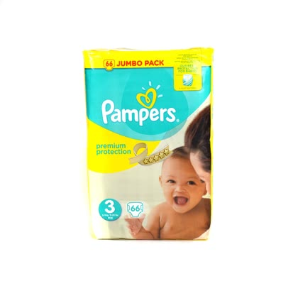 Pampers 幫寶適 Premium Protection 三號 Midi,超大包裝 - * Pampers premium protection diaper size 3 midi – jumbo pack – Silky smooth fleece and extendible wristbands offer the best of comfort for your child.