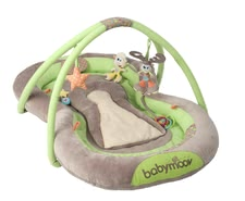 Babymoov 遊戲網 - * Babymoov play mat – A comfortable mat on which you child is even able to play thanks to the cute toys hanging on it.