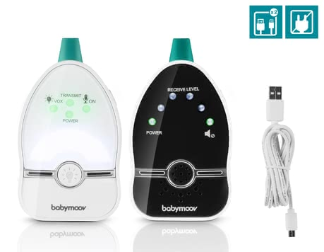 Babymoov 嬰兒監聽器 Easy Care - * Babymoov Easy Care baby phone – The Easy Care by Babymoov is suitable for everybody who is looking for a baby phone with very low radiation.