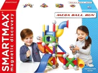 SMARTMAX 磁性玩具滚动大球 - * SMARTMAX Mega Ball Run – The magnetic construction set SMARTMAX Mega Ball Run will soon be your child's favourite toy.