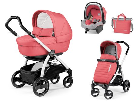 Peg-Perego Book S Modular Set Elite 兒童推車組 - * Peg-Perego stroller set Book S Sportivo Modular Set Elite – This stroller set has all eyes on them and offers your child the best of comfort and safety.