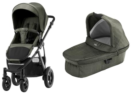 Britax Römer 儿童推车 SMILE 2,含Hard Carrycot 儿童推车睡篮 - * Britax Römer pushchair SMILE 2 incl. Hard Carrycot Attachment – Receive a great and complete set which accompanies you and your little one from birth on.