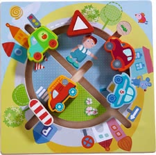 "Haba 运动机能玩具板""汽车世界"" - * Haba motor skills board ""vehicle world"" – Hum, hum, hum – a lot of pleasure will be provided with this toy."
