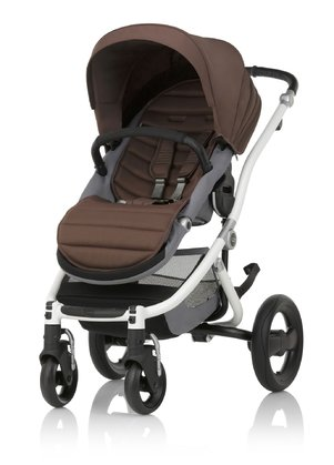 Britax Römer AFFINITY 2 推車組合(含彩色包配件) Wood Brown 2018 - 大圖像