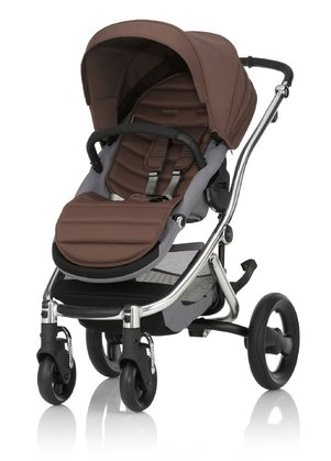 Britax Römer AFFINITY 2 推車組合(含彩色包配件) Wood Brown 2016 - 大圖像