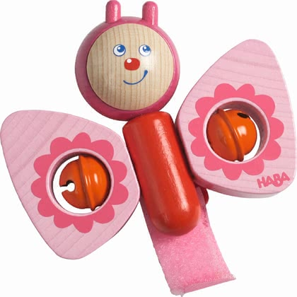 "Haba 推車裝飾玩具 ""蝴蝶"" - * Haba playing piece ""Butterfly"" – This cute playing piece fits to every buggy."