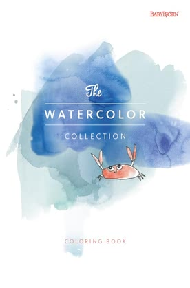 "Baby Björn Malbuch ""The Watercolor Collection"" 2016 - 大圖像"