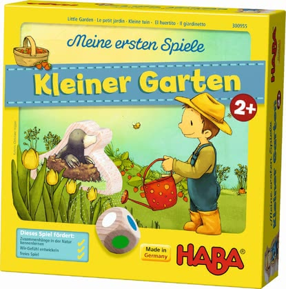 "Haba 我的第一个玩具""小小花园"" - * Haba My first games ""Little garden"" – Playing in a little garden can be a lot of fun."