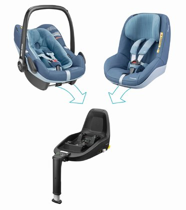Maxi Cosi 兒童安全座椅2Way Family Concept Frequency Blue 2018 - 大圖像
