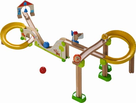 "Haba 滚球轨道玩具""过山车"" - * Haba ball track Kullerbüg ""Big Dipper Track – An exciting basis pack with a lot of great effects."