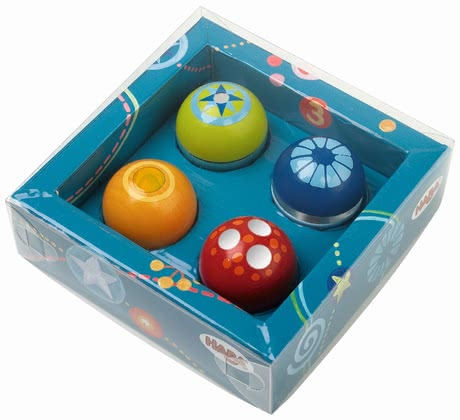 Haba 探险球,四入 - * Haba disocvery balls, set of 4 – A great addition to the Haba tracks.