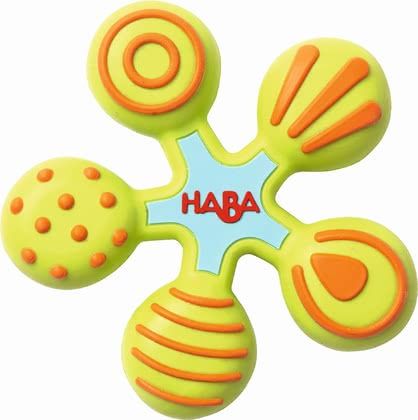 "Haba 摇铃玩具""星星"" - * Haba clutching toy star – This toy invited you to an exciting discovery tour."