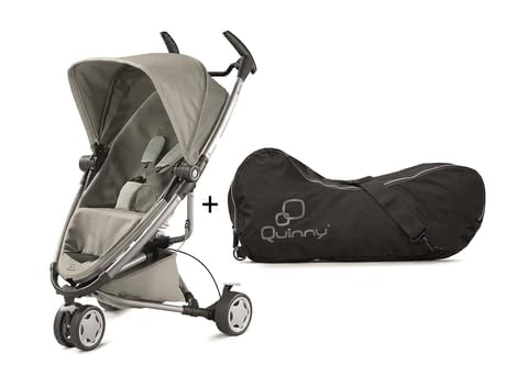 Quinny Zapp Xtra 2.0 Grey Gravel incl travel bag 2016 - 大圖像