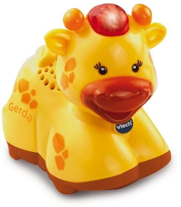 vtech Tip Tap Baby 长颈鹿 - * Vtech tip tap baby animals – giraffe – The magic giraffe by Vtech provides a lot of fun and is perfect to learn new things.