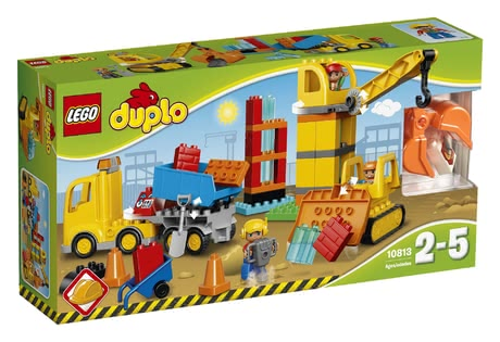 LEGO Duplo 樂高大型工地 - * LEGO Duplo big construction site – This construction site contains everything you need for a role play.