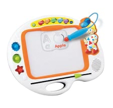 Vtech ABC 图画学习版 - * Support your child's creativity with the stamps, stencils and a music card by VTech on the ABC painting board.