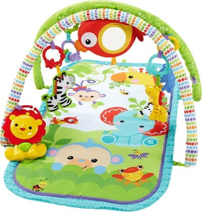 Fisher-Price 三合一雨林游戏垫 - * Totally comfortable with a lot of activities.