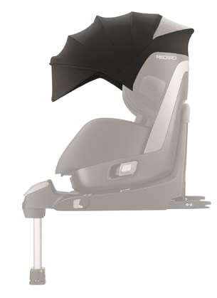 Recaro 兒童安全座椅 Zero.1專用遮陽罩 - The large sun canopy comes with UVP 40+ and protects your little one from direct sunlight.
