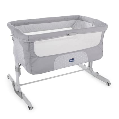 Chicco 床邊嬰兒床 Next2Me Dream -  * ✓ height-adjustable in 11 levels ✓ rocking mode ✓ comfort mattress ✓ side panel with one-hand locking mechanism ✓ 4 wheels ✓ transport bag