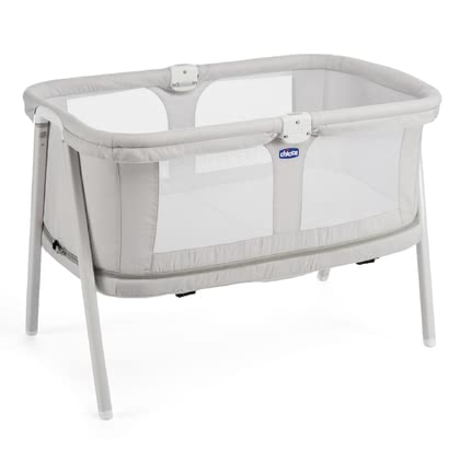 Chicco travel cot LullaGo Zip Light Grey 2017 - 大圖像