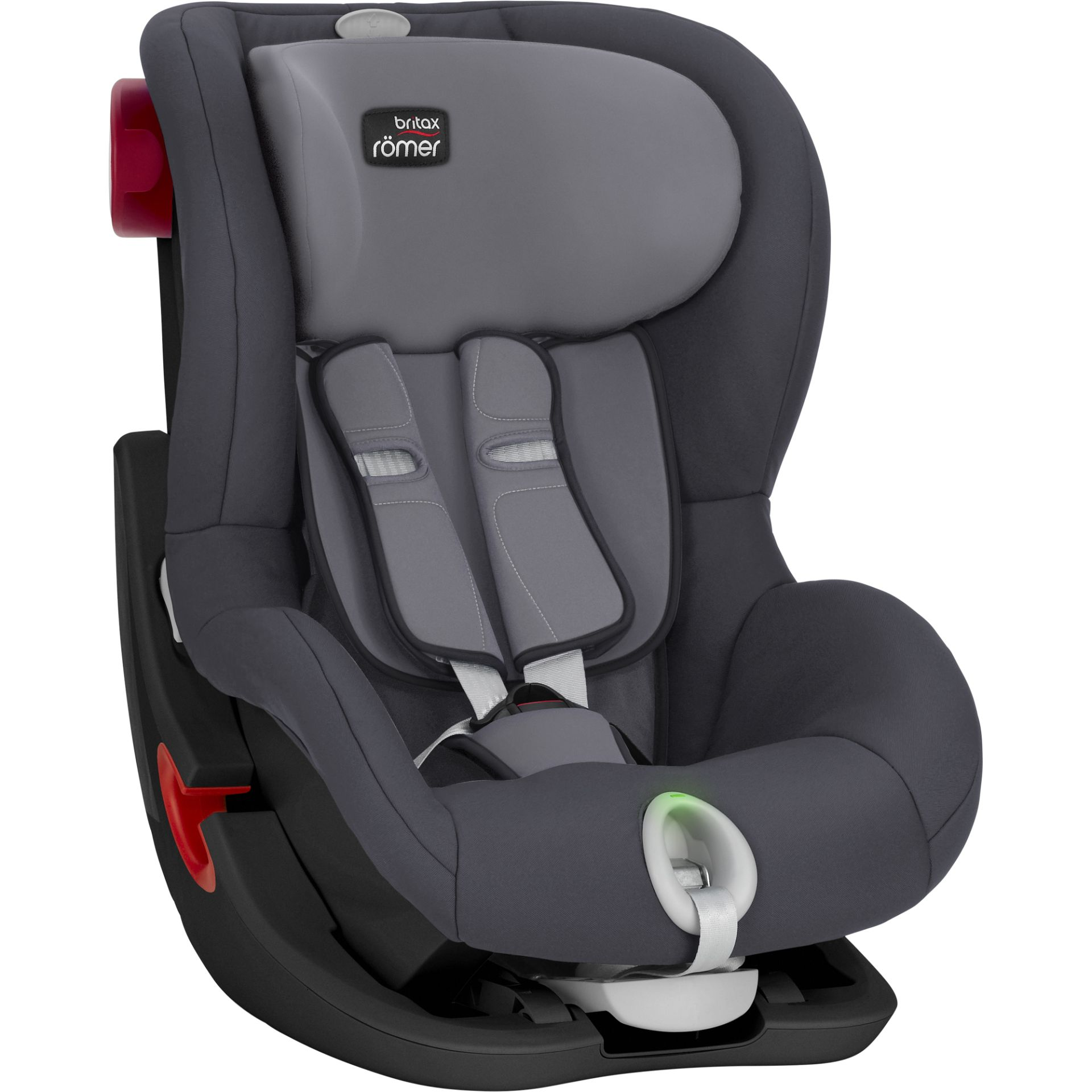 britax r mer king ii ls 2019 storm grey. Black Bedroom Furniture Sets. Home Design Ideas
