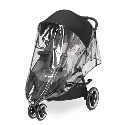 Cybex賽百斯雨罩適用於Agis M-Air推車 -  * Protecting your little one in any weather the Cybex Rain Cover is the perfect accessory for your stroller.