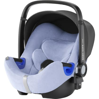 Britax Römer 嬰兒提籃 Baby-Safe i-Size 夏季椅套 -  * The Britax Römer summer cover for Baby-Safe i-Size can be pulled over the regular cover of your infant car seat and prevents your little one from breaking a sweat.